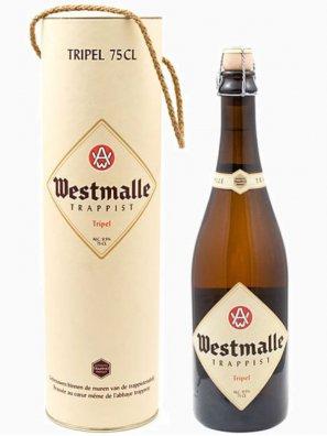 Вестмалле Траппист Трипл / Westmalle Trappist Tripel (0,75л. в тубусе) алк.9,5%