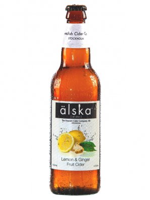 Альска Лимон Имбирь / Alska Limon and Ginger 0,5л. алк.4,0%