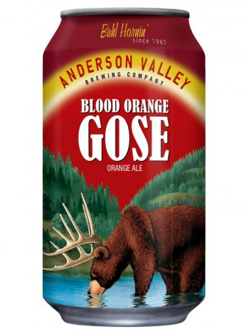 Андерсон Валей Блад Орандж Гозе/ Anderson Valley Blood Orange Gose 0,355л. алк.4,2% ж/б.