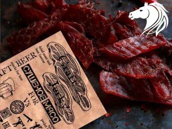 Крафт Бир Сушеное мясо Конина с Острым Перцем,40гр.