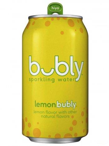Вода Бабл Лайм газ. / Buble Lime 0,355л. ж/б.