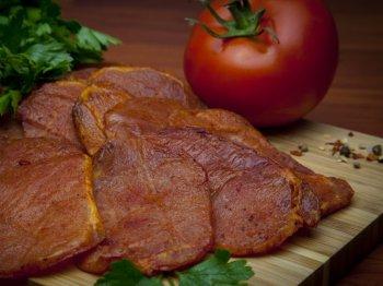 Нарезка из мяса свинины с/к, 100гр.