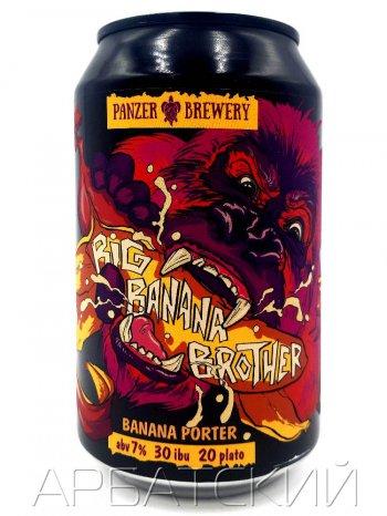 ПАНЗЕР Большой Банановый Брат / Panzer Big Banana Brother 0,33л. алк.7% ж/б.