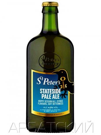 Ст.Петерс Стэйтсайд Пейл Эль / St. Peter_s Stateside Pale Ale 0,5л. алк.4,2%