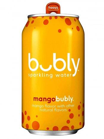 Вода Бабл Манго газ. / Bubly Mango 0,355л.
