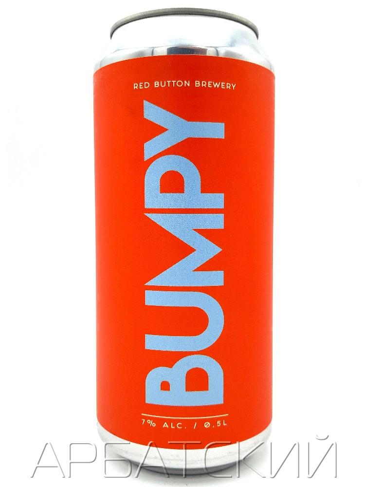 Рэд Баттон Бампи / Red Button BUMPY 0,5л. алк.7% ж/б.