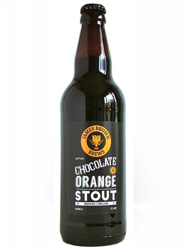 Блэк Шип Шоколадный стаут / Black Sheep Choc Orange Stout 0,5л. алк.6,1%