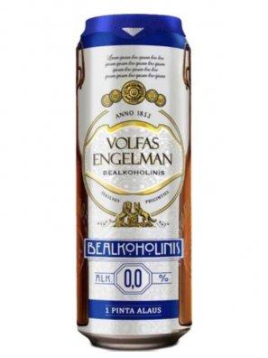 Вольфас Энгельман б/а / Volfas Engelman Nealkoholinis 0,568л. б/а ж/б.