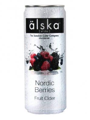 Альска Лесные Ягоды / Alska Nordic Berries 0,33л. алк.4% ж/б.