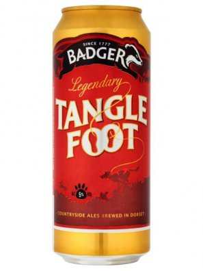 Баджер Тэнгл Фут / Badger Tangle Foot 0,5л. алк.5% ж/б.