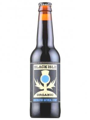 Блэк Исл Органик Хибернатор Оатмил Стаут/Black Isle Organic Hibernator Oatmeal Stout 0,33л. алк.7%