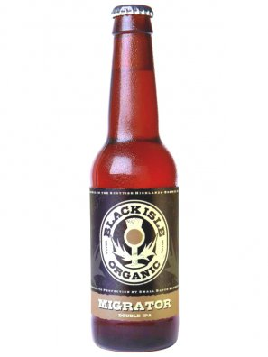 Блэк Исл Органик Мигратор Дабл ИПА / Black Isle Organic Migrator Double IPA  0,33л. алк.7,9%