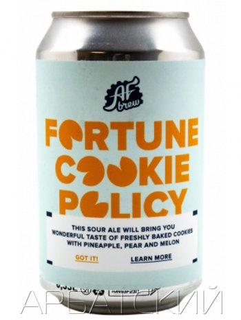 АФ Брю Форчен куки полиси / AF Brew Fortune Cookie Policy 0,33л. алк.5% ж/б.