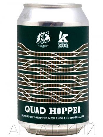 АФ Брю Квад Хоппер / AF Brew Quad Hopper 0,33л. алк.10% ж/б.