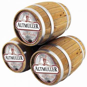 АЛЬТМЮЛЛЕР  ХЕФЕ-ВАЙСБИР / Altmuller Hefe-Weissbier, keg. алк.5,4%