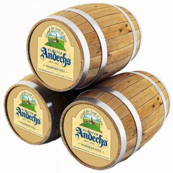 Андексер Вайсбир Хелл / Andechs Weissbier Hell, keg. алк.5,5%
