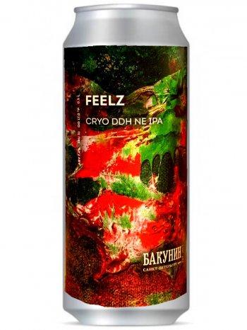 Бакунин симко сингл хоп / Bakunin Feelz 0,5л. алк.7,4% ж/б.