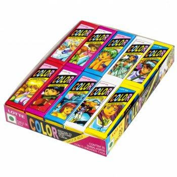 Жевательная резинка Lotte Color 1 шт.
