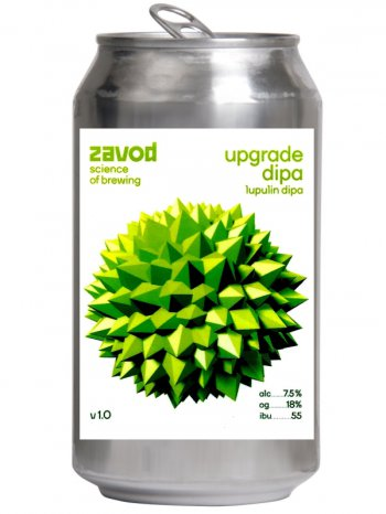 Завод Апгрейд ДИПА / Zavod Upgrade DIPA 0,5л. алк.7,5% ж/б.